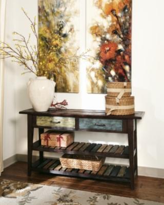 Mestler SofaConsole Table Ashley Furniture HomeStore