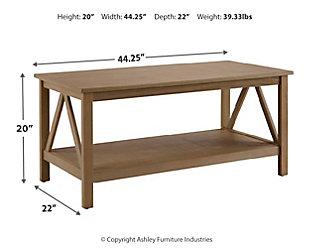 Titan Coffee Table, , large