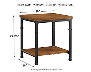 Austin End Table, , large