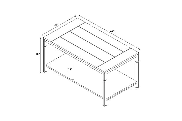Austin Coffee Table, , large