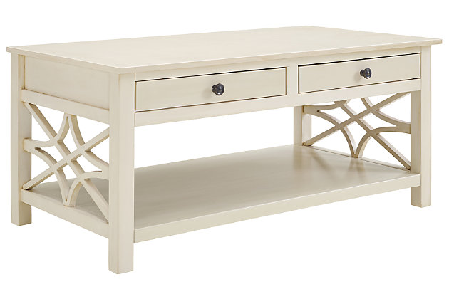 Whitley Antique Coffee Table, , large