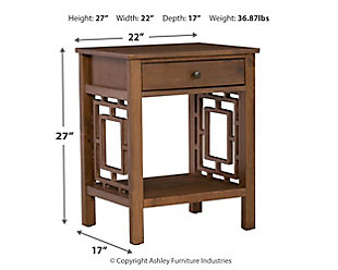 Breckin End Table, , large