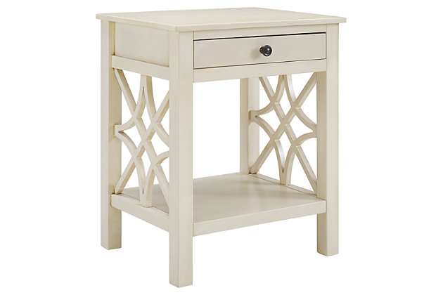 Whitley Antique  End Table, , large