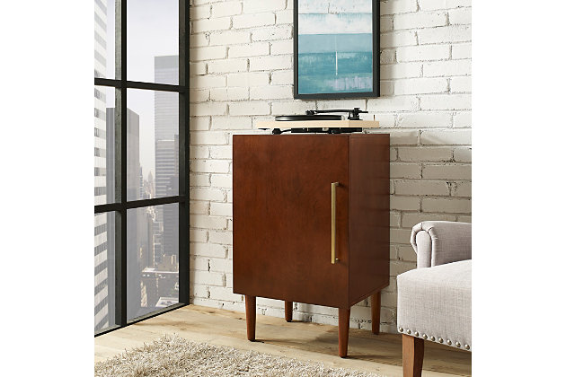 Turntable Record Player Stand, , large