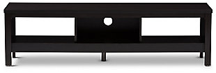 "Three Shelf 59"" TV Stand, , large"
