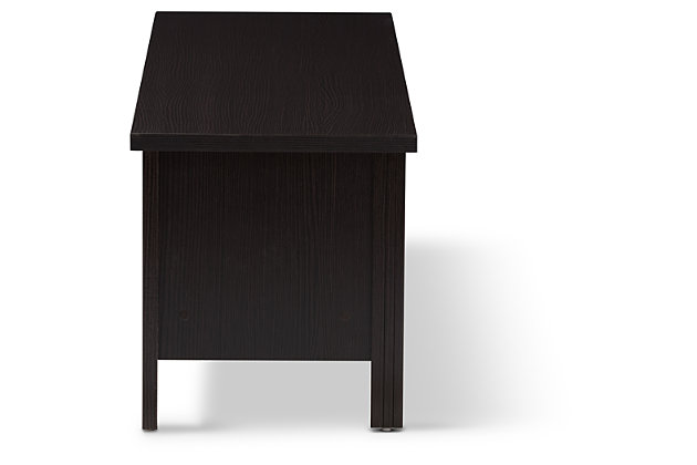 "Three Shelf 59"" TV Stand, , large"