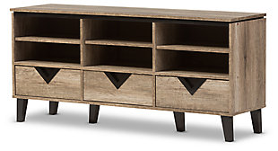 "Three Drawer 55"" TV Stand, , large"