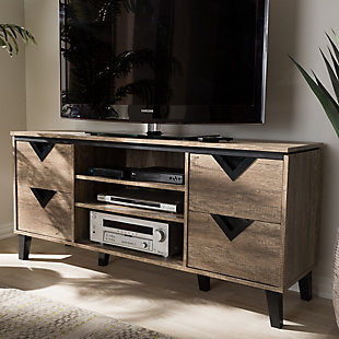 """Four Drawer 55""""  TV Stand, , rollover"""