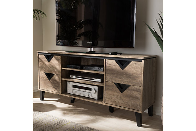 """Four Drawer 55"""" TV Stand, , large"""