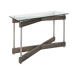 Glass Top Console Table, , rollover