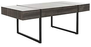 Conor Rectangular Modern Coffee Table, , large