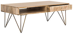 Mango Finish Coffee Table, , large