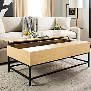 Lift Top Contemporary Coffee Table, , large