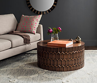 Antique Finish Coffee Table, , rollover