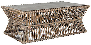 Basket Style Coffee Table, , large