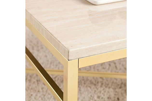 Stone Veneer Coffee Table, , large