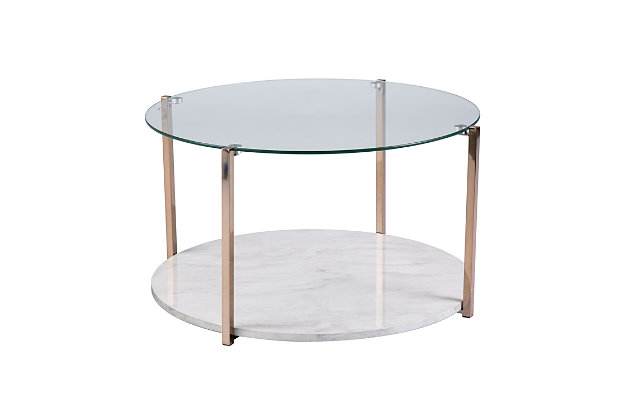 Glass Coffee Table, , large