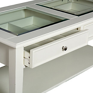 Glass Top Coffee Table, , large