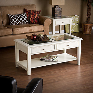 Glass Top Coffee Table, , rollover