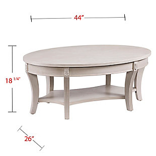 Oval Coffee Table, , large
