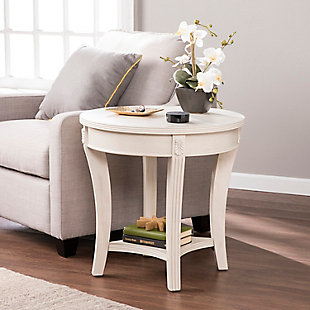 Oval End Table, , rollover