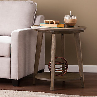 Round End Table, , rollover