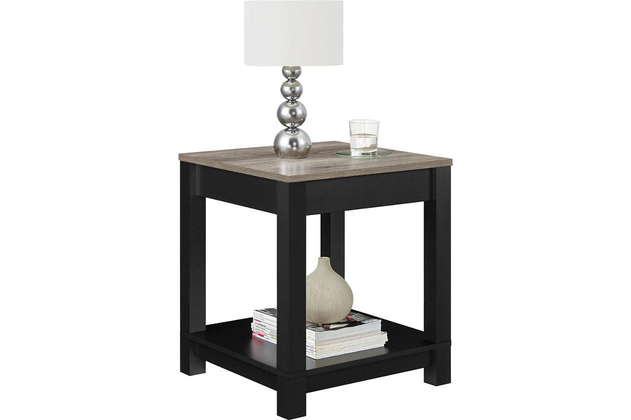 Miraculous Square Kadin End Table Ashley Furniture Homestore Cjindustries Chair Design For Home Cjindustriesco