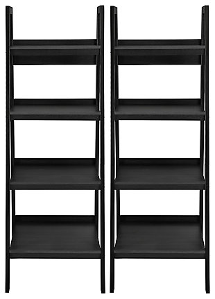 Ladder Lehigh 4 Shelf Bookcase Bundle, , large