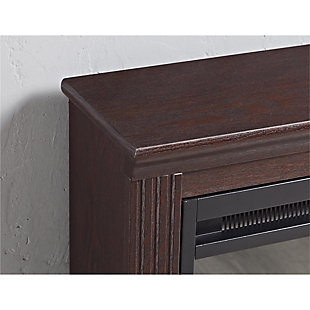 Slender Winnie Electric Fireplace, , large