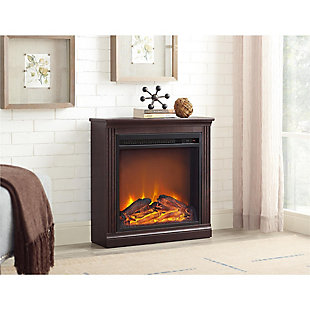Slender Winnie Electric Fireplace, , rollover