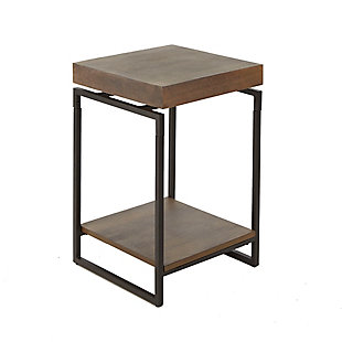 Floating Top End Table, , large
