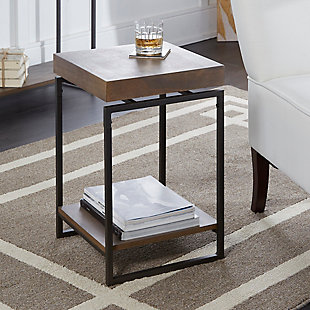 Floating Top End Table, , rollover
