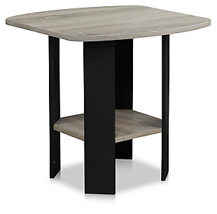 Gray Simple Design Side Table, , large