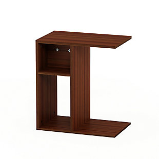 Walnut Finish Boyate Sofa Side Table, , rollover