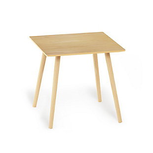 Oak Finish Theo Side Table, , rollover
