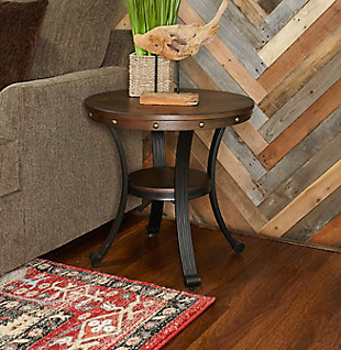 Transitional Owens Side Table, , rollover
