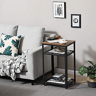 Vasagle Industrial Side Table, , rollover