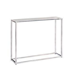 "Montclair Montclair 36"" Console Table in Brushed Aluminum, , large"