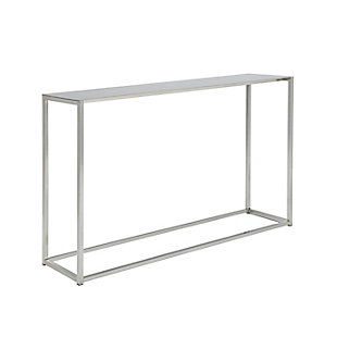 "Montclair Montclair 48"" Console Table in Brushed Aluminum, , large"