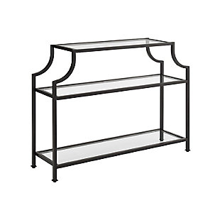 Crosley Aimee Console Table, Bronze, rollover
