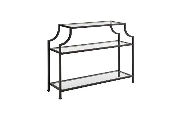 Crosley Aimee Console Table, Bronze, large