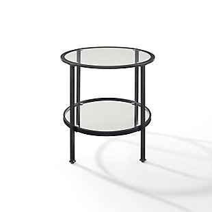 Crosley Aimee End Table, Bronze, large