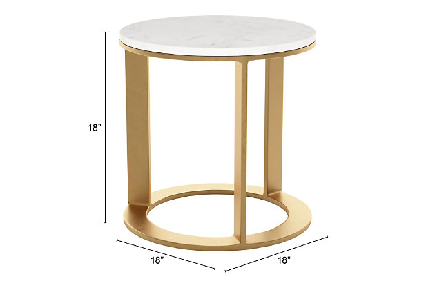 ZUO Modern Helena Side Table, , large