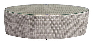 ZUO Modern Valencia Coffee Table White, , large