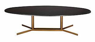 Gemma Black Marble Cocktail Table, , large