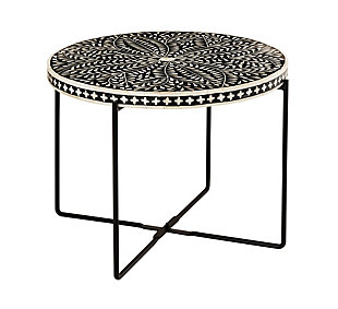 Regina Bone Inlay Cocktail Table, , large