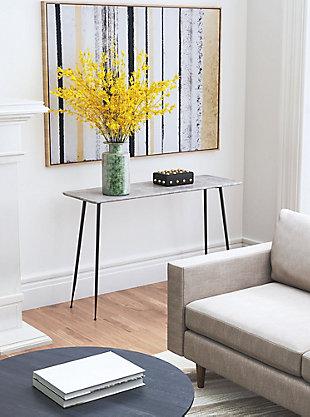 Zuo Modern Gard Console Table, Gray, rollover