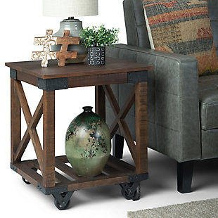 Simpli Home Industrial End Table, , rollover