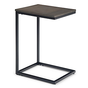 Simpli Home Industrial Contemporary C Side Table, , large