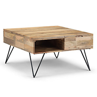 Simpli Home Contemporary Lift Top Coffee Table, , large